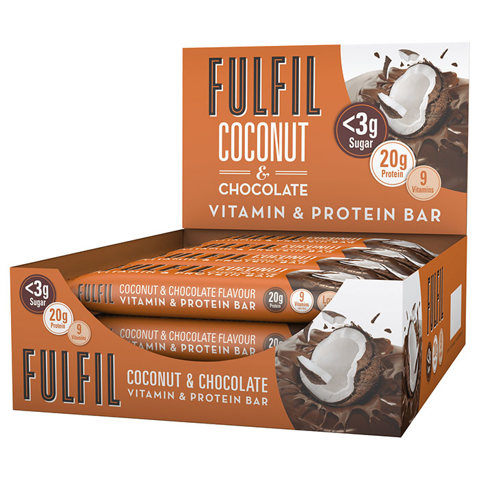 Image of Fulfil Nutrition Fulfil Vitamin and Protein Bar 1 Bar Coconut and Chocolate