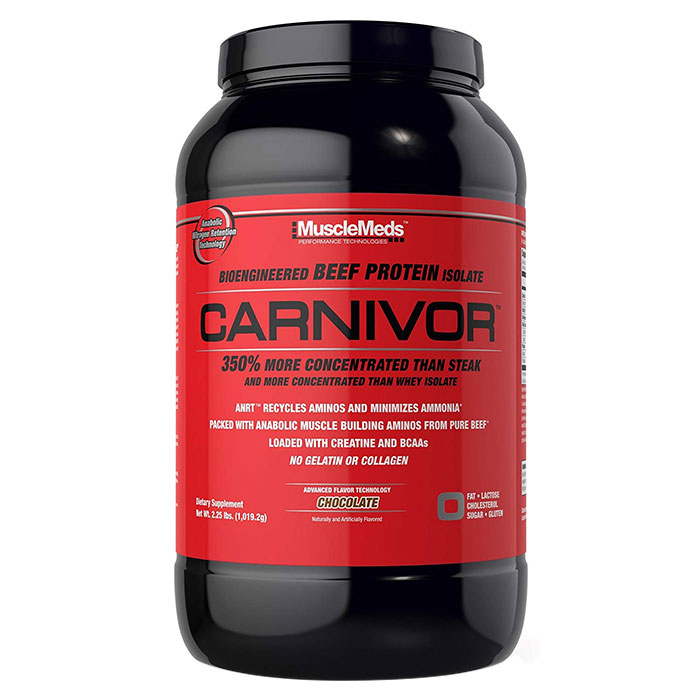 Image of Musclemeds Carnivor 2LB Blue Raspberry