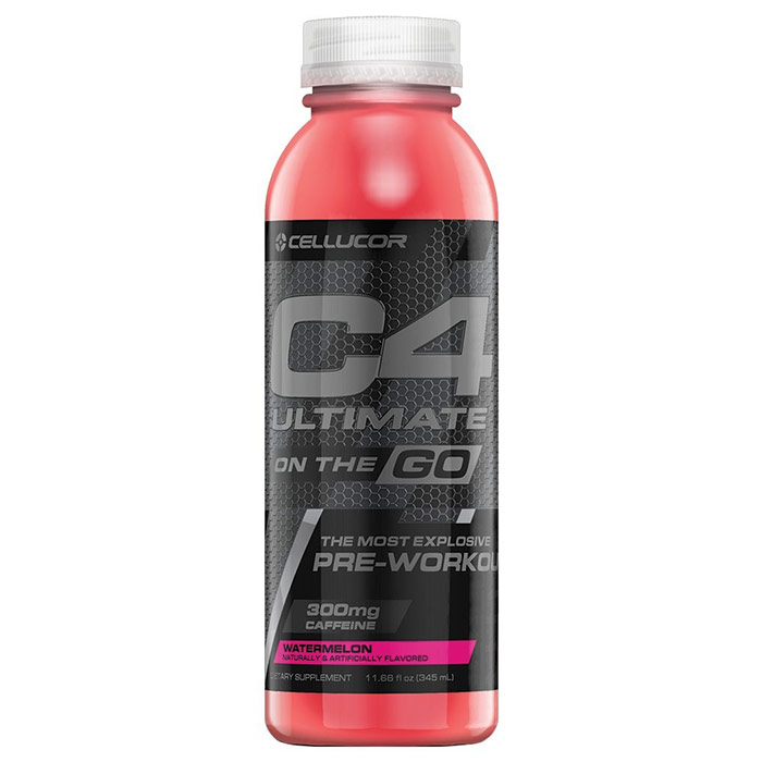 Image of Cellucor C4 Ultimate On The Go 12 Bottles Watermelon