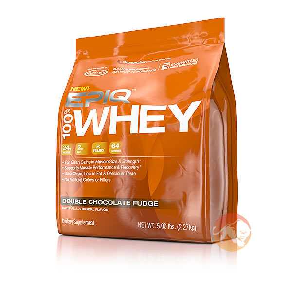 Epiq 100% Whey 2.27kg Double Chocolate Fudge
