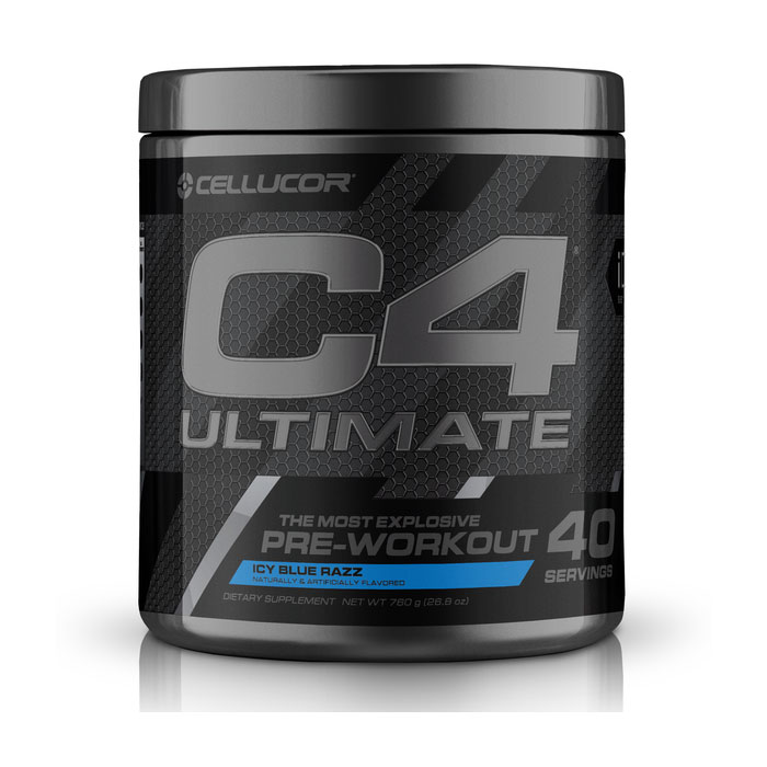 Image of Cellucor C4 Ultimate 40 Servings Icy Blue Raspberry
