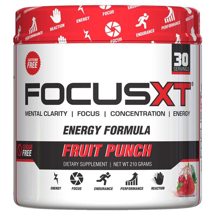 Focus XT Caffeine Free 30 Servings Fruit Punch