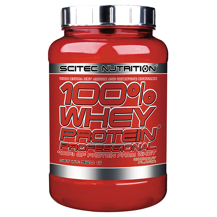 100% Whey Protein Professional 920g Coconut