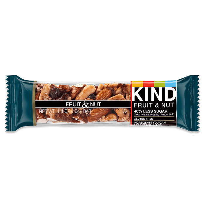 Image of Kind Snacks Kind Bars Fruit and Nut 1 Bar Fruit and Nut
