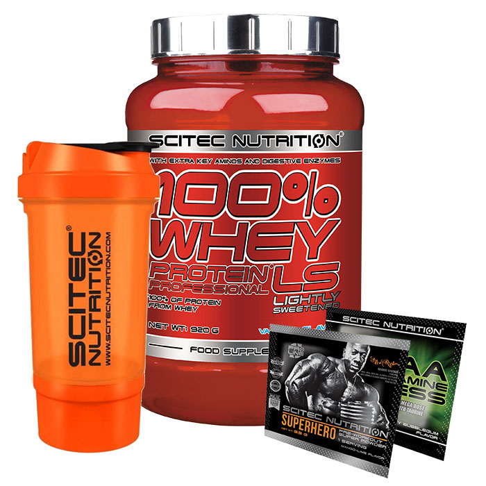 100% Whey Protein Professional 920g Strawberry White Chocolate