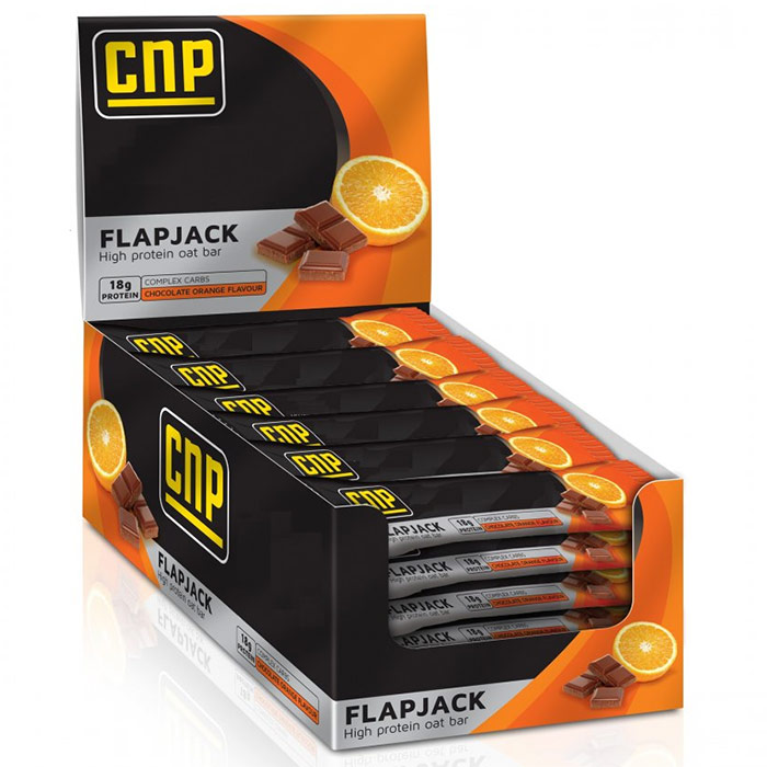 Image of CNP Professional CNP Protein Flapjack 12 Bars Chocolate Orange