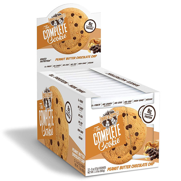 Image of Lenny & Larry's Complete Cookie 12 Pack Peanut Butter Chocolate Chip