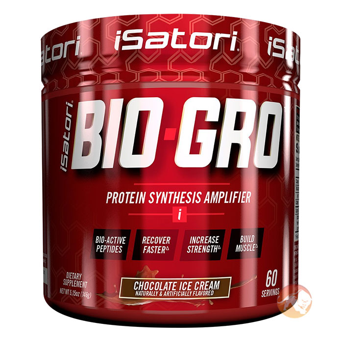 Image of Isatori Bio-Gro 120 Servings Unflavoured