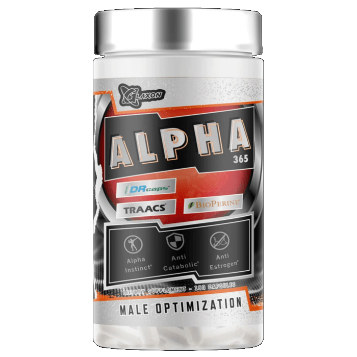 Image of Glaxon Alpha 365 180 Capsules