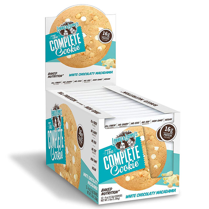 Complete Cookie 12 Pack White Chocolate Macadamia