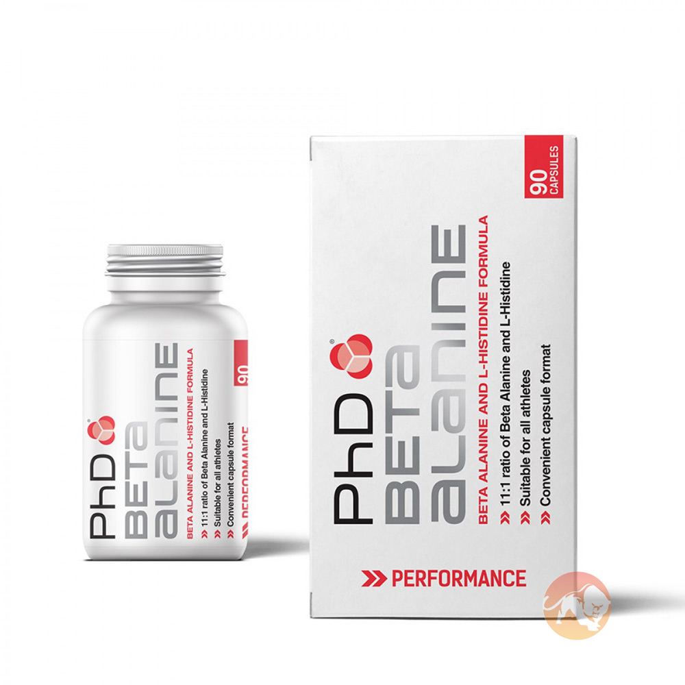 PhD Beta Alanine 90 Capsules