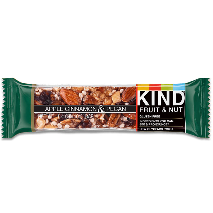 Image of Kind Snacks Kind Bars Fruit and Nut 1 Bar Apple Cinnamon and Pecan