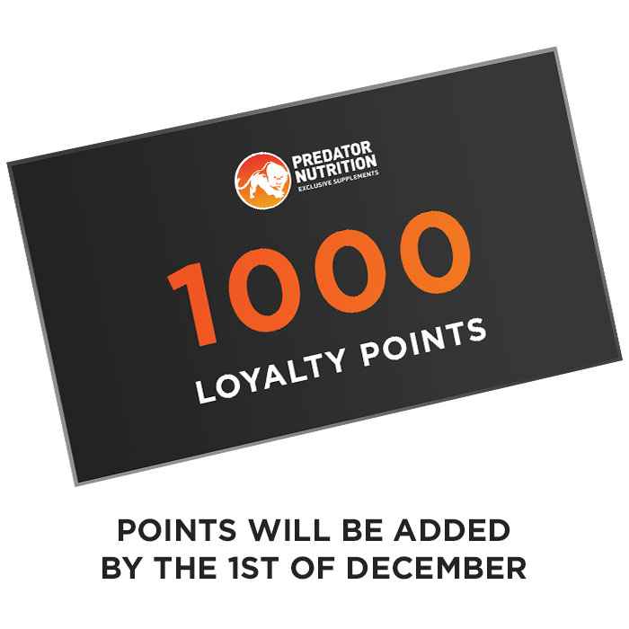 1000 loyalty points