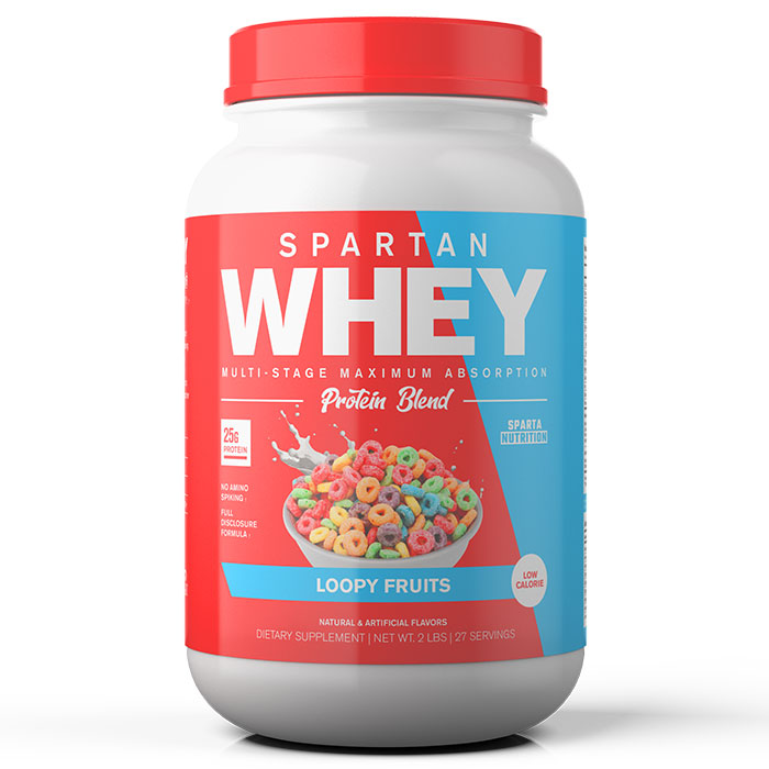 Image of Sparta Nutrition Spartan Whey 2lb Loopy Fruits