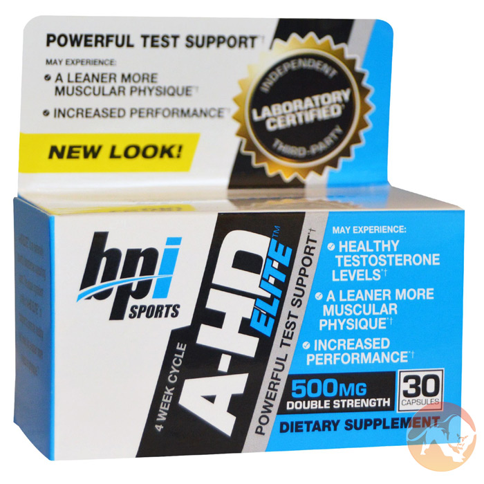 Image of BPI Sports A-HD Elite 30 Capsules