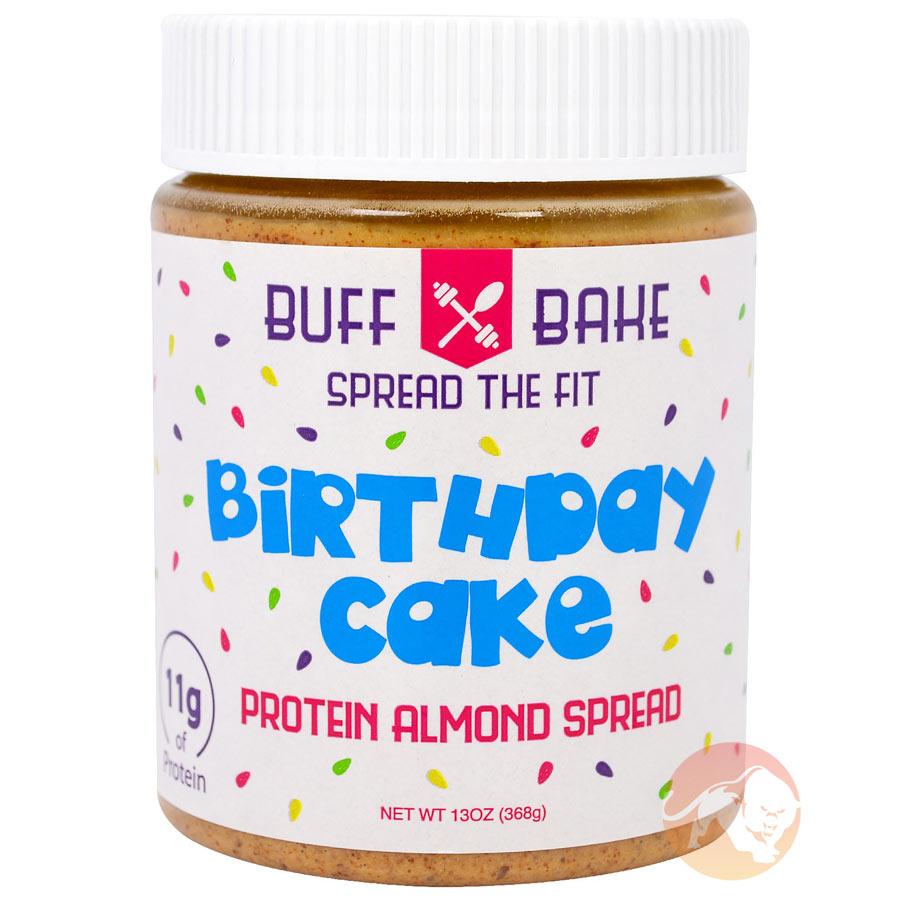 Image of Buff Bake Birthday Cake Almond Spread 368g