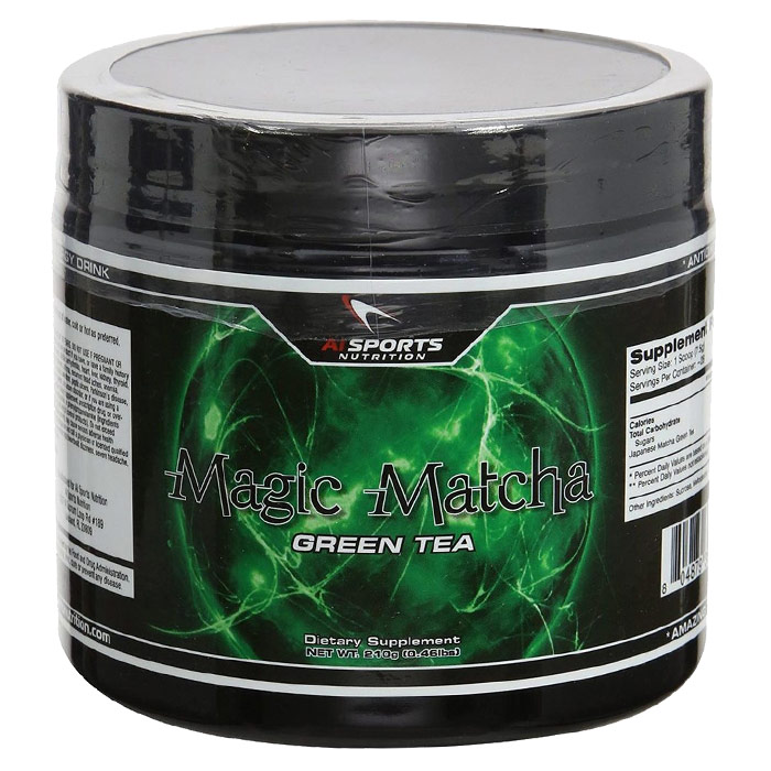 Image of AI Sports Nutrition Magic Matcha 144g Unflavoured