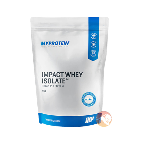 Impact Whey Isolate, Apple and Raspberry 1KG