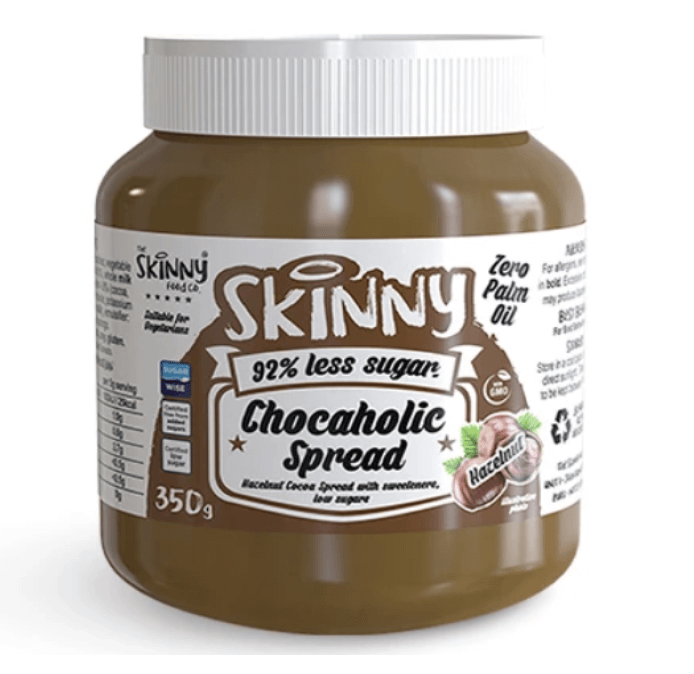 Image of The Skinny Food Co Low Sugar Chocaholic Chocolate Hazelnut Spread 115g