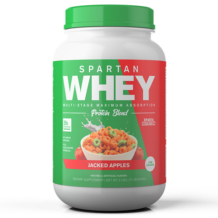 Image of Sparta Nutrition Spartan Whey 2lb Jacked Apples