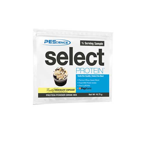Select Protein Half Servings Chocolate Peanut Butter Cup