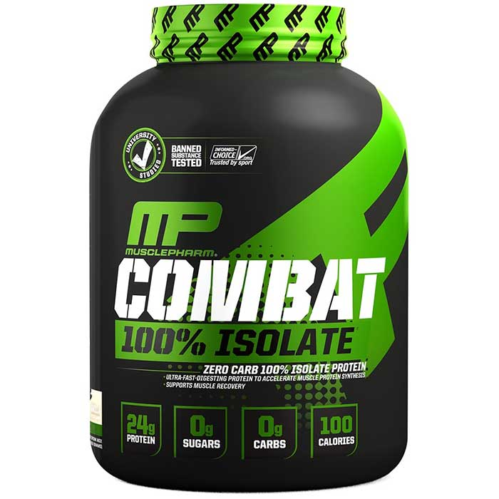 Image of MusclePharm Combat 100% Isolate - 1.8kg