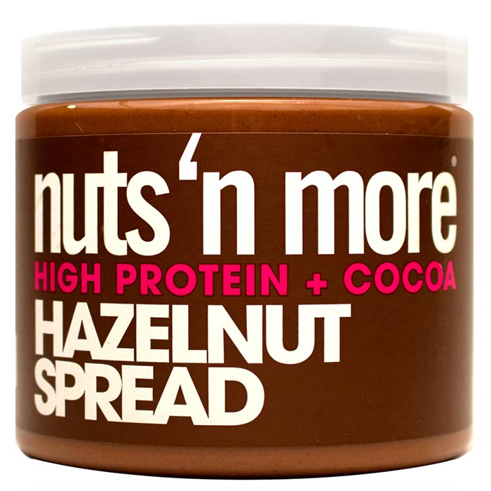 Image of Nuts'n more Nuts n More Hazelnut Cocoa Spread 454g