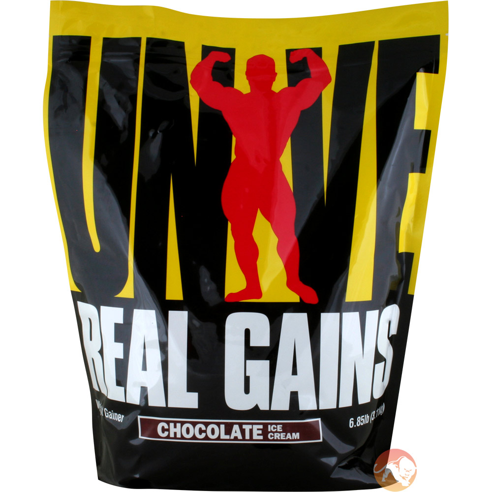 Image of Universal Nutrition Real Gains 10.5lb - Chocolate