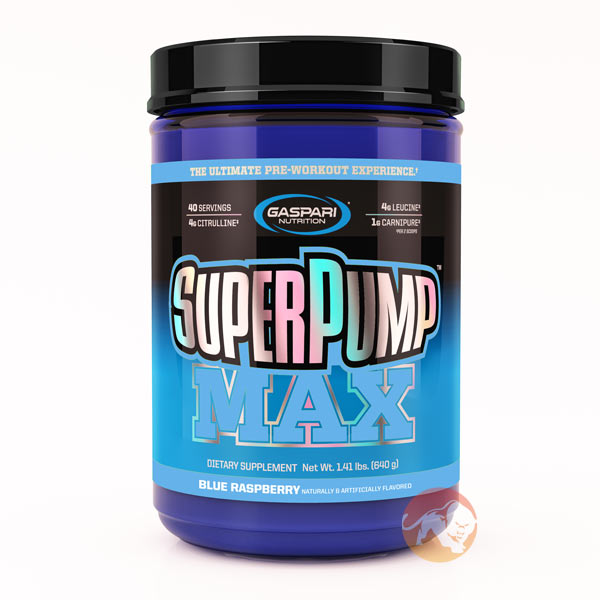 Image of Gaspari Nutrition Superpump Max 640g Black Cherry