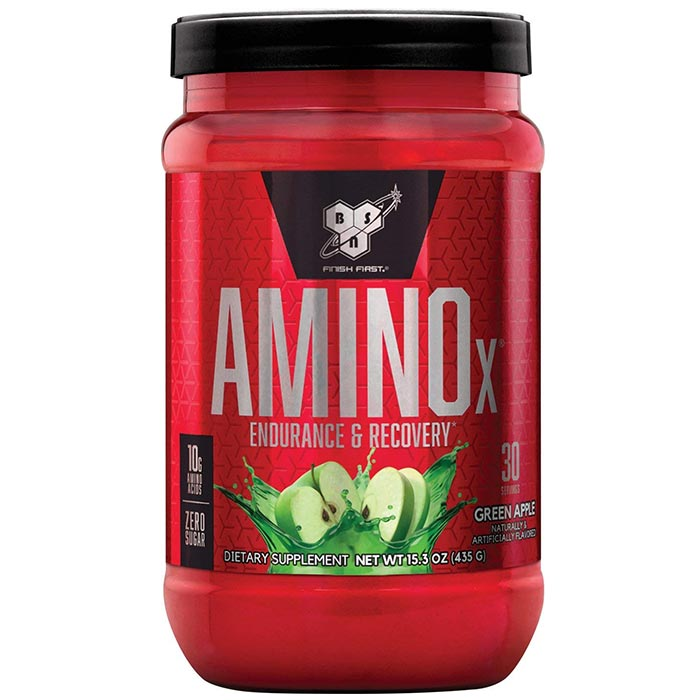Image of BSN Amino X 30 Servings - Green Apple