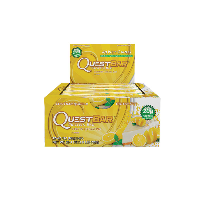 Quest Bars 12 Bars - Lemon Cream Pie