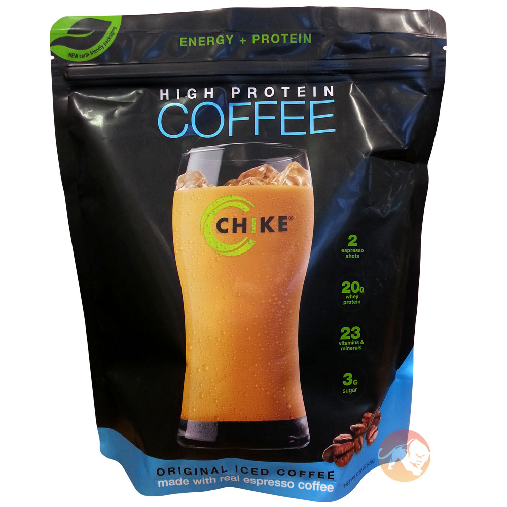 Image of Chike High Protein Iced Coffee 14 Servings Peanut Butter