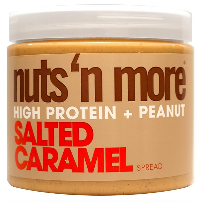Image of Nuts'n more Nuts n More Salted Caramel Peanut Butter 454g