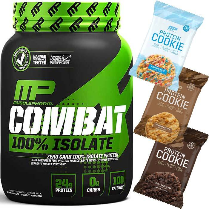 Image of MusclePharm Combat 100% Isolate - 909g
