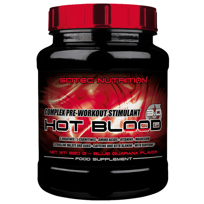 Hot Blood 3.0 15 Servings Blue Guarana