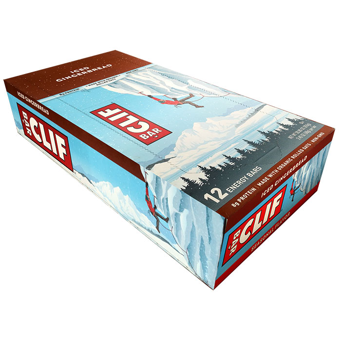 Image of Clif Bar Clif Bar 12 Bars Iced Gingerbread