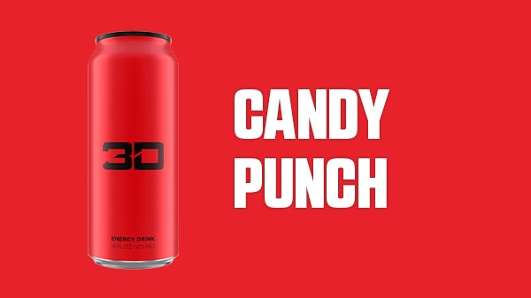 3D Energy Red - Candy Punch