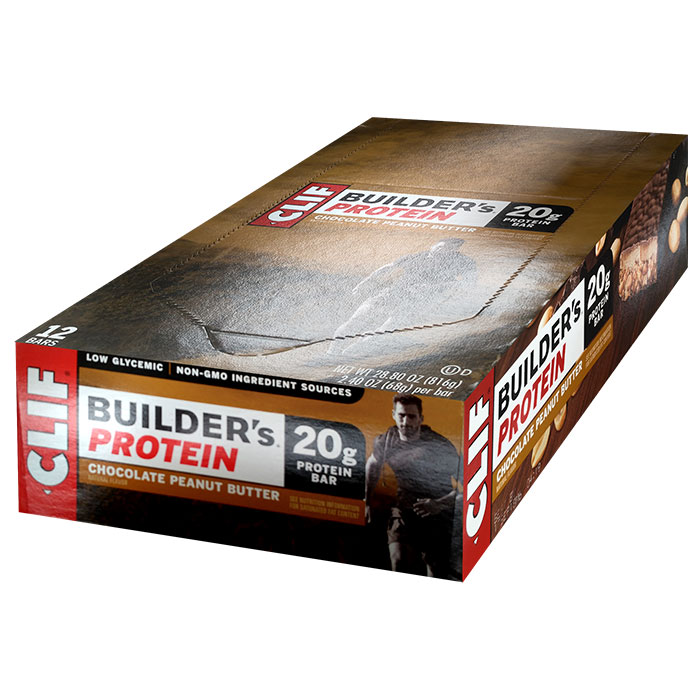 Image of Clif Bar Builder's Bar 12 Bars Chocolate Peanut Butter