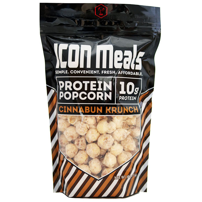 Image of Icon Meals Protein Popcorn 240g Cinnabun Krunch