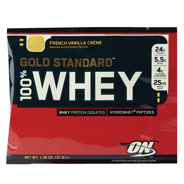 Optimum Nutrition Gold Standard 100% Whey Trial Serving Birthday Cake