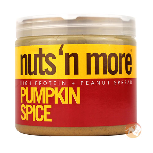 Image of Nuts'n more Nuts 'N More Pumpkin Spice Peanut Butter 454g