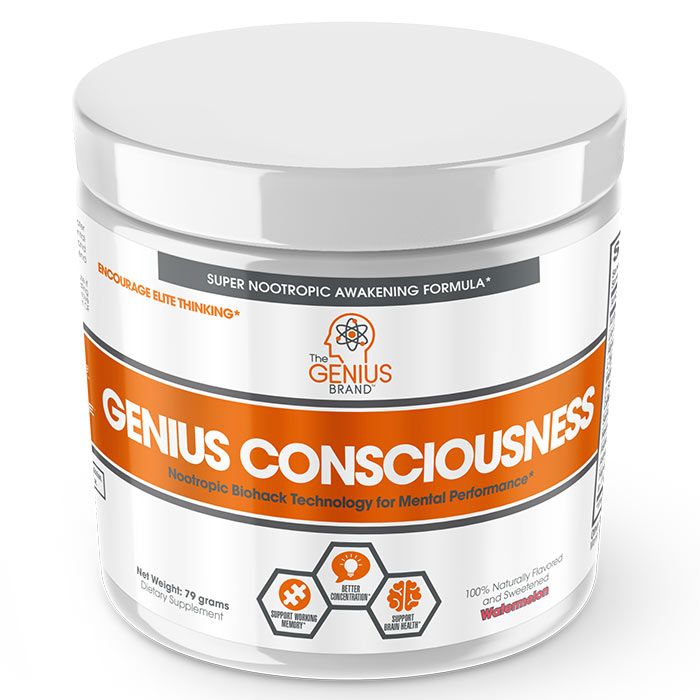 Image of The Genius Brand Genius Consciousness 30 Servings Watermelon