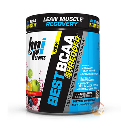 Best BCAA Shredded 25 Servings Cherry Lime