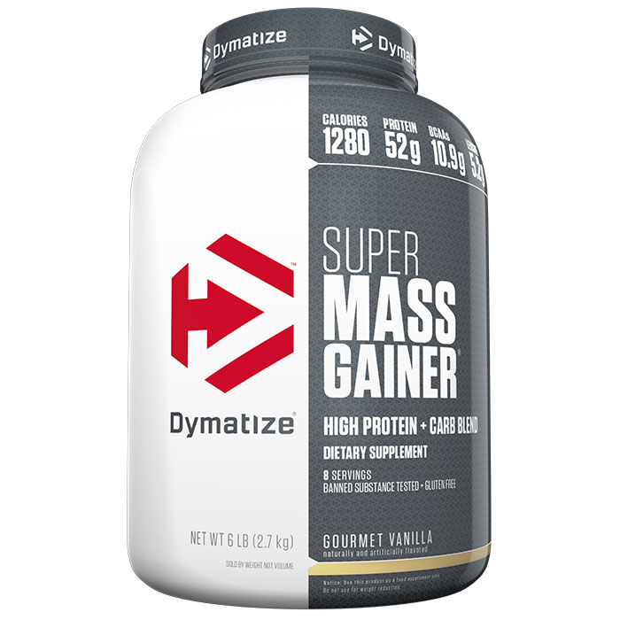 Super Mass Gainer 2.94kg Gourmet Vanilla