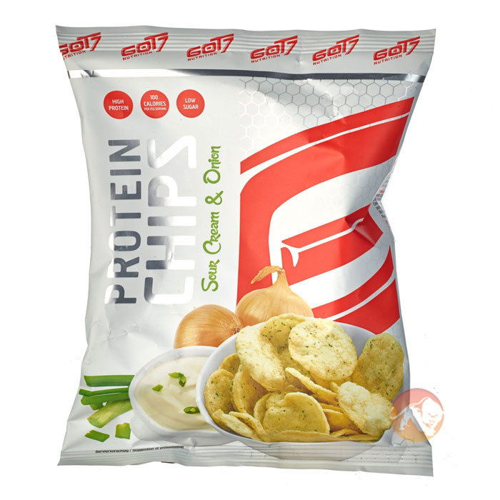 Image of GOT7 Nutrition GOT7 Protein Chips 50g Sour Cream & Onion