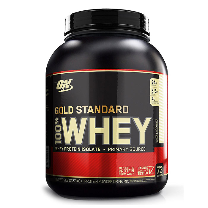 Gold Standard 100% Whey 2.27kg Banana Cream