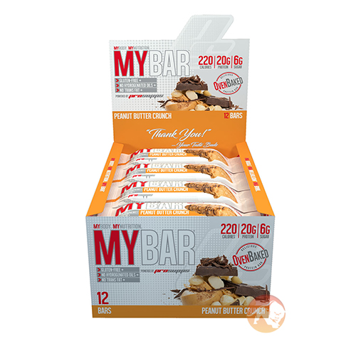 MyBar 12 Bars Peanut Butter Crunch