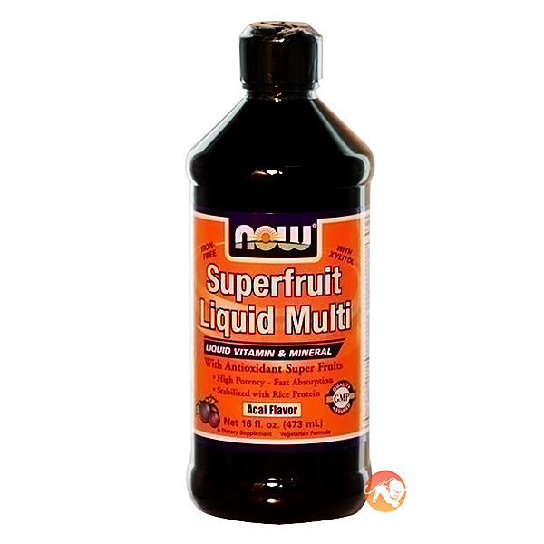 Image of NOW Foods Superfruit Liquid Multi 280ml