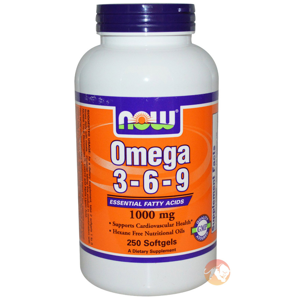 Image of NOW Foods Omega 3-6-9 100 Caps