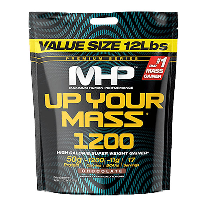 Image of MHP Up Your Mass 1200 5.21kg - Chocolate